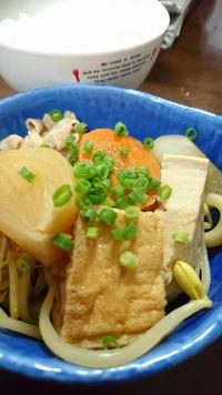 豚コレラ!?安心して豚味噌鍋。