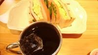 コメダのサンドイッチ