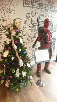 街はクリスマス&ボチクリファミリー 2018/12/08 12:31:01