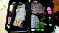 旅の準備。