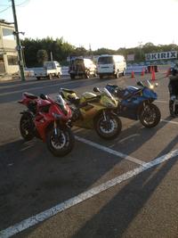 9月のバイクな出来事
