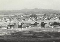 とよた今昔/昭和30年代初頭の挙母市街