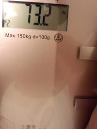 減量8キロ。だいたい成功。