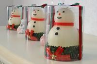 クリスマスキャンドルシリーズ 雪だるま