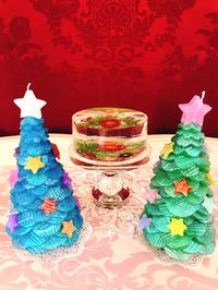 きらきらクリスマスツリー制作