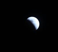 皆既月食ブルームーン