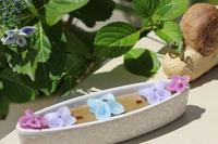 紫陽花キャンドル