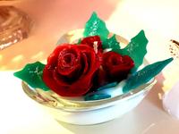 薔薇キャンドル