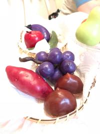ロウで作るお野菜&果物