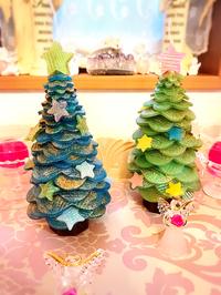 クリスマスの準備!キラキラクリスマスツリーキャンドル