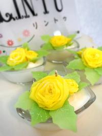 10月のマンスリーレッスンThree roses