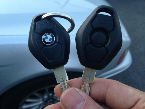 BMW 5シリーズ キーレス・イモビライザーキー追加作成