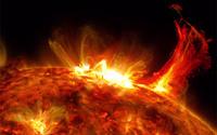 太陽表面爆発!?(@_@。