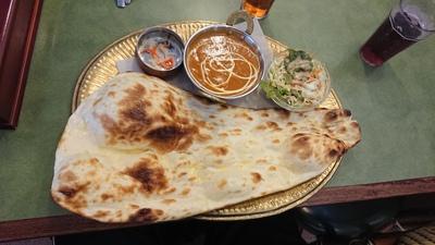ヘルシーカレーのロティーセット(#^^#)【インド・ネパール料理 マヤ】