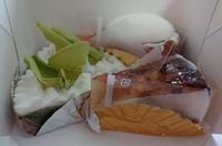 思いがけずブールブールのケーキ~♪(*^^*)