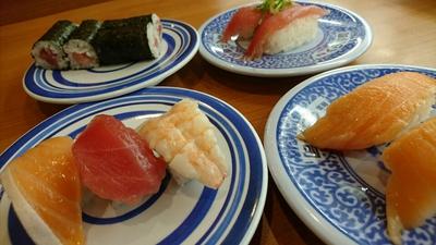 くら寿司でランチ~♪