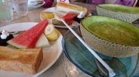 贅沢な生メロンジュースのモーニング(#^^#)【各務原市 果実香】