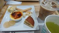 恵那川上屋 里の菓茶房でティータイム(#^^#)