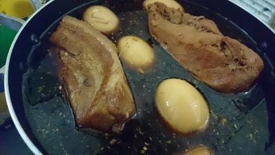 鶏むね肉でヘルシーチャーシュー作りました(#^^#)