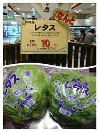 えっ?松坂屋でレタスが10円?(#^.^#)