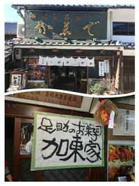 香嵐渓のあとはレアポテトと五平餅(*^_^*)【in足助】