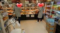 今日は定期健診なのでパンを買う日(#^^#)【某病院】