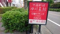四川菜館に行ってきました(#^^#)【三好丘】
