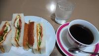 雨なので今日もアッシーちゃん・・・の前に・・・(o^-^o)【喫茶あいかむ】