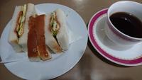 サンドイッチが・・・【喫茶あいかむ】