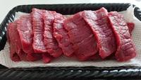 今度は、お肉の差し入れ(*゜Q゜*)