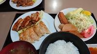 今日は餃子と焼肉です(о´∀`о)【喫茶あいかむ】