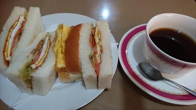 今日は、モーニングに行ってきました(o^-^o)【喫茶あいかむ】