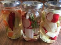 ピクルスで野菜を沢山食べて健康に