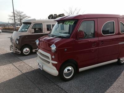 イチゴ100円チャリティ軽大会