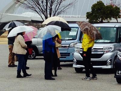 雨の軽大会