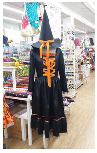 ハロウィンの衣装を作ってみました! 2016/08/31 20:14:00