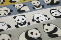 人気の綿麻キャンバス地 新柄入荷しました! かわいいパンダ柄です。 2016/06/05 23:26:03