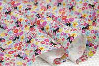 綿オックス地 新柄入荷しました。花柄+ネコ柄(4色)です。 2016/06/23 23:42:36