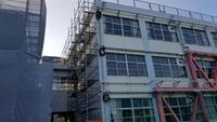 脇坂班-施設改修工事足場-組立て‼︎