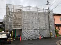 赤根班-住宅改修工事足場-組立て‼︎