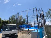 新築住宅先行足場-組立て‼︎