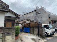 住宅改修工事足場-組立て‼︎