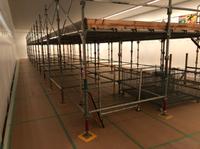 赤根班-施設改修工事足場-組立て‼︎