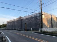 新築工場足場-組立て‼︎
