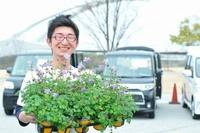 ガーデニングフェスタ2016で花壇苗、野菜苗販売!4/29(金)~