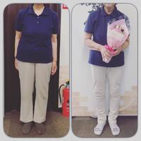 3ヶ月で−9.6㎏達成 69歳、女性 ◽︎岡崎 耳つぼダイエット 骨盤矯正 体質改善 整体院めざめ◽︎