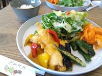 ジレカフェ(豊田市伊保町)で野菜たっぷりランチ