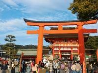 今年は三大稲荷にお詣りしたよ(*^^*)伏見稲荷に豊川、おちょぼさん