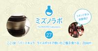 イベント告知*バーミキュラ ライスポットで炊いたご飯を食べる会 6/13(火)岡崎市 2017/06/11 21:09:47