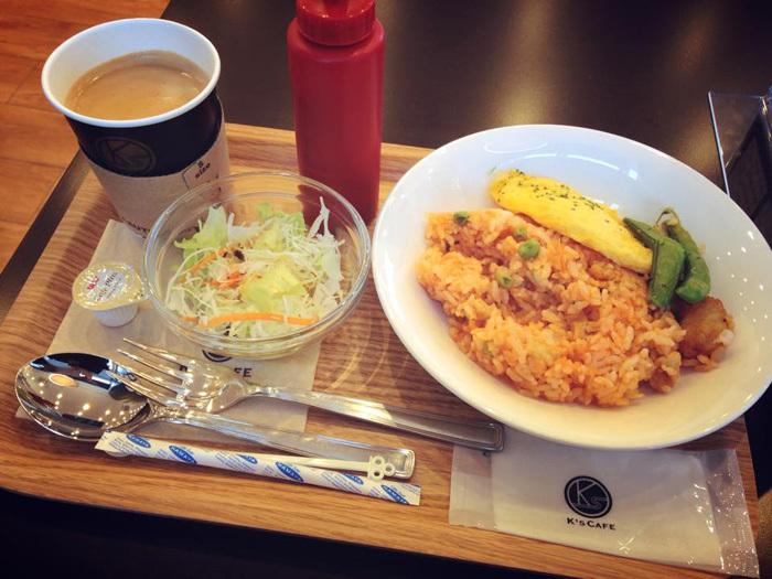 岡崎リブラ内、K's cafe(ケーズカフェ)再び。